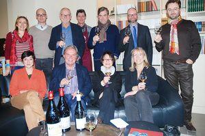 Six journalistes canadiens à la découverte des vins de Châteauneuf-du-Pape